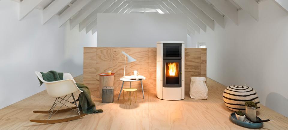 un seul po le pour toute la maison fromentel chauffage bois granul s. Black Bedroom Furniture Sets. Home Design Ideas