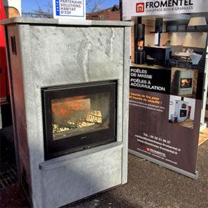 Poêles à accumulation de chaleur