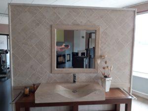 Encadrement de miroir